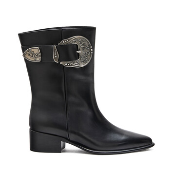 LOEWE Western Boot 黑色 front