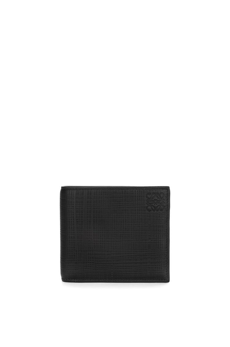 LOEWE Bifold coin wallet in calfskin Black pdp_rd