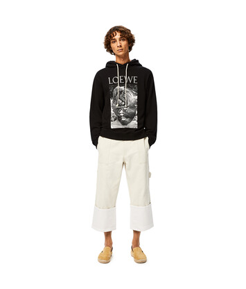 LOEWE Lord Of The Flies Hoodie Black front