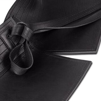 LOEWE Cinturon Obi Negro front