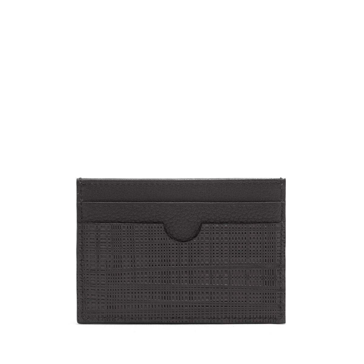 LOEWE Plain Card Holder Black all