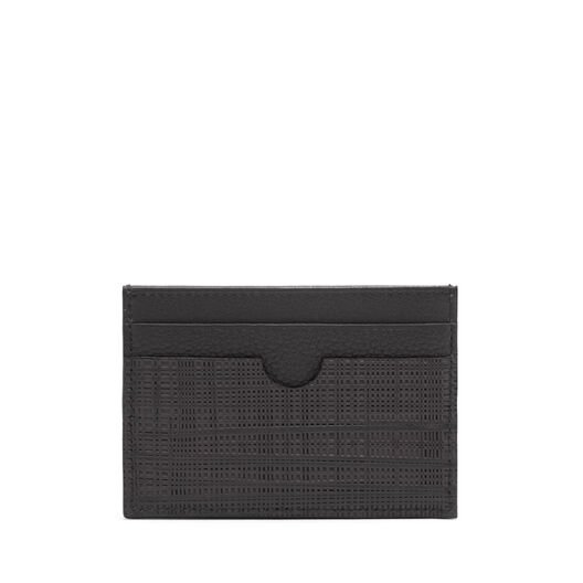 LOEWE Plain Card Holder Black all