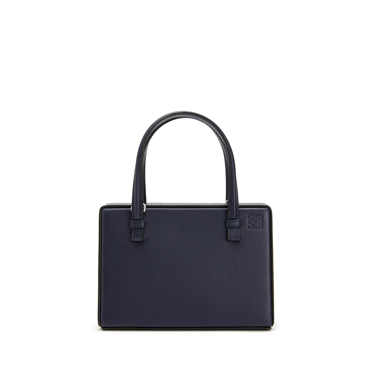 LOEWE Postal London Small Bag Midnight Blue front