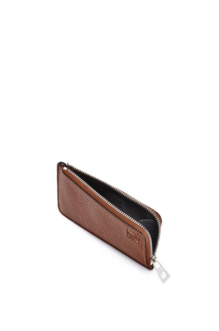 LOEWE Coin cardholder in grained calfskin Cognac pdp_rd