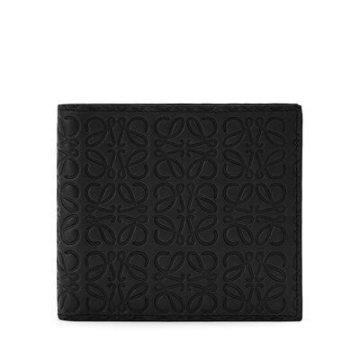 LOEWE Bifold Wallet 黑色 front
