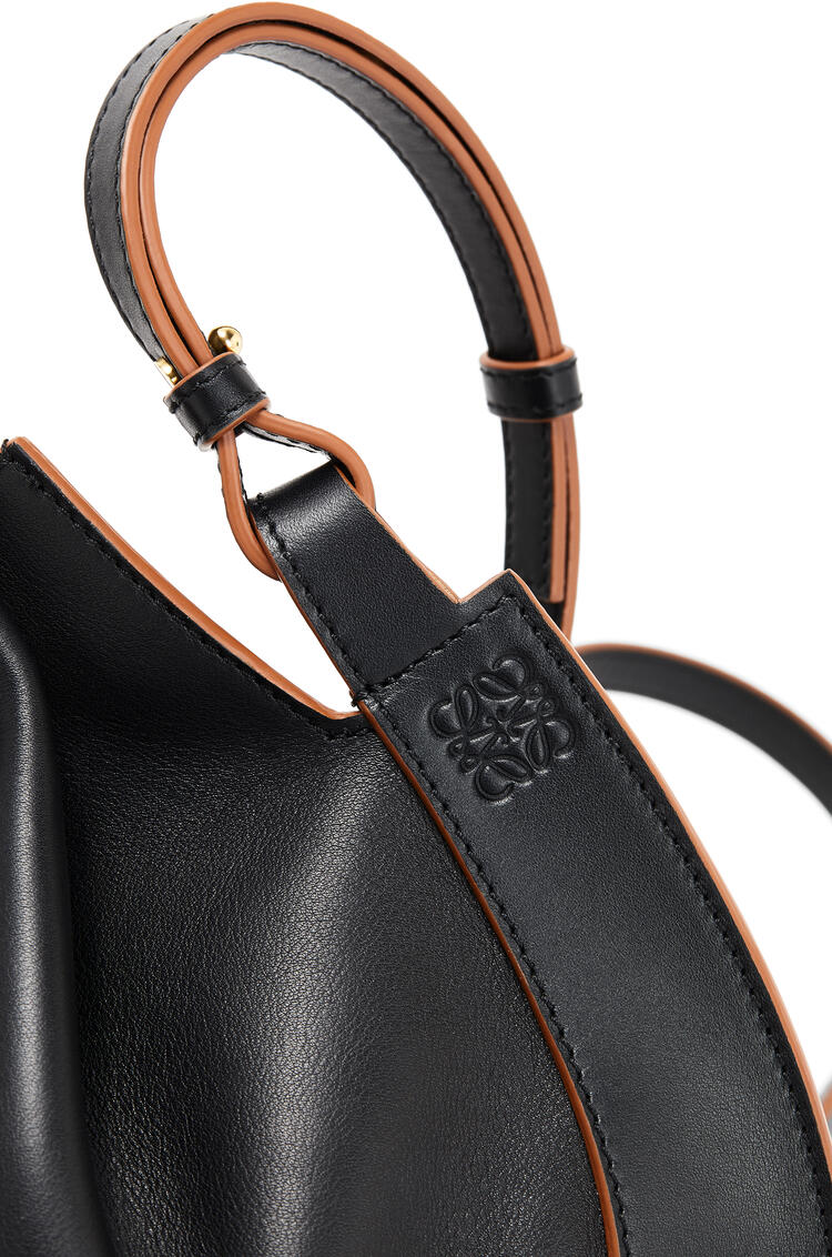 LOEWE Horseshoe bag in nappa calfskin Black pdp_rd