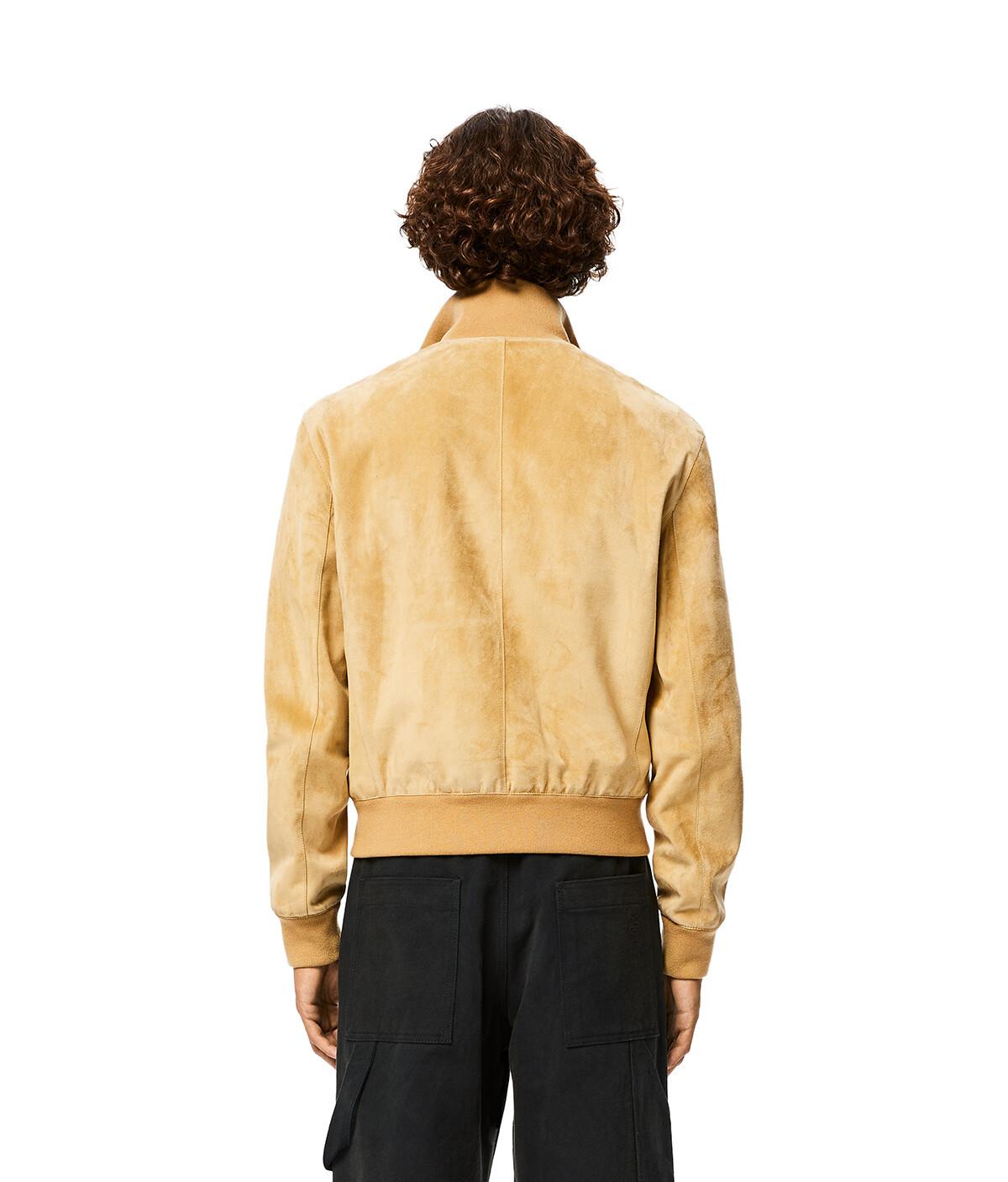 LOEWE Zip Jacket Gold front