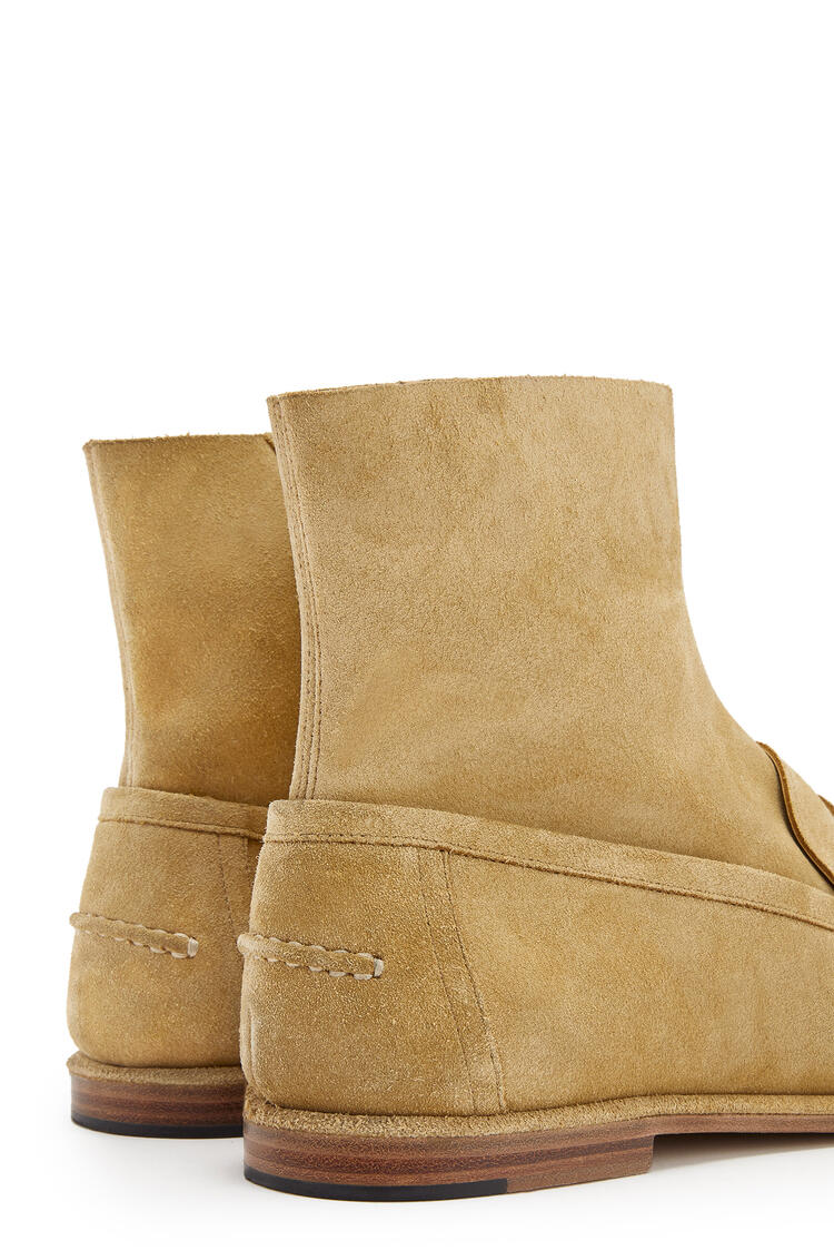 LOEWE Loafer boot in split calfskin 金色 pdp_rd