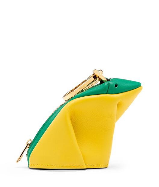 LOEWE Frog Charm Green/Yellow front