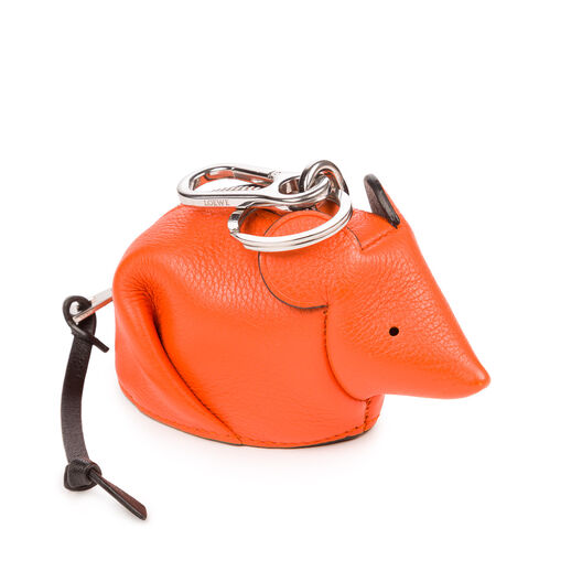 LOEWE Mouse Charm Orange all