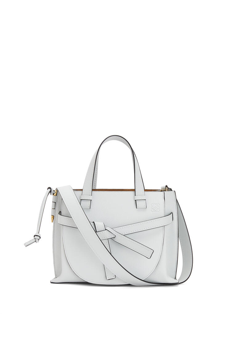 LOEWE Small Gate Top Handle bag in soft grained calfskin Kaolin pdp_rd