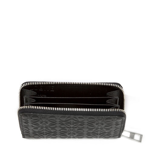 LOEWE Zip Card Holder Black all