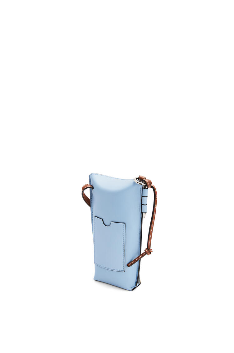 LOEWE 柔软牛皮革龙猫 Gate Pocket 手袋 淡蓝色 pdp_rd