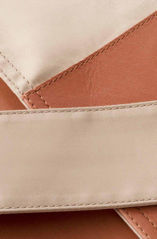 LOEWE Trenchcoat Leather Panel Sand/Tan all