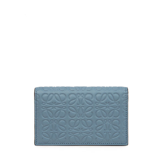 LOEWE Repeat Business Cardholder 灰蓝色 front