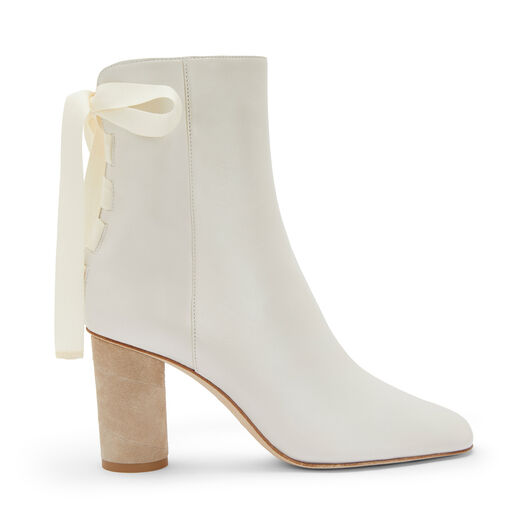 LOEWE Ankle Boot 80 ホワイト front