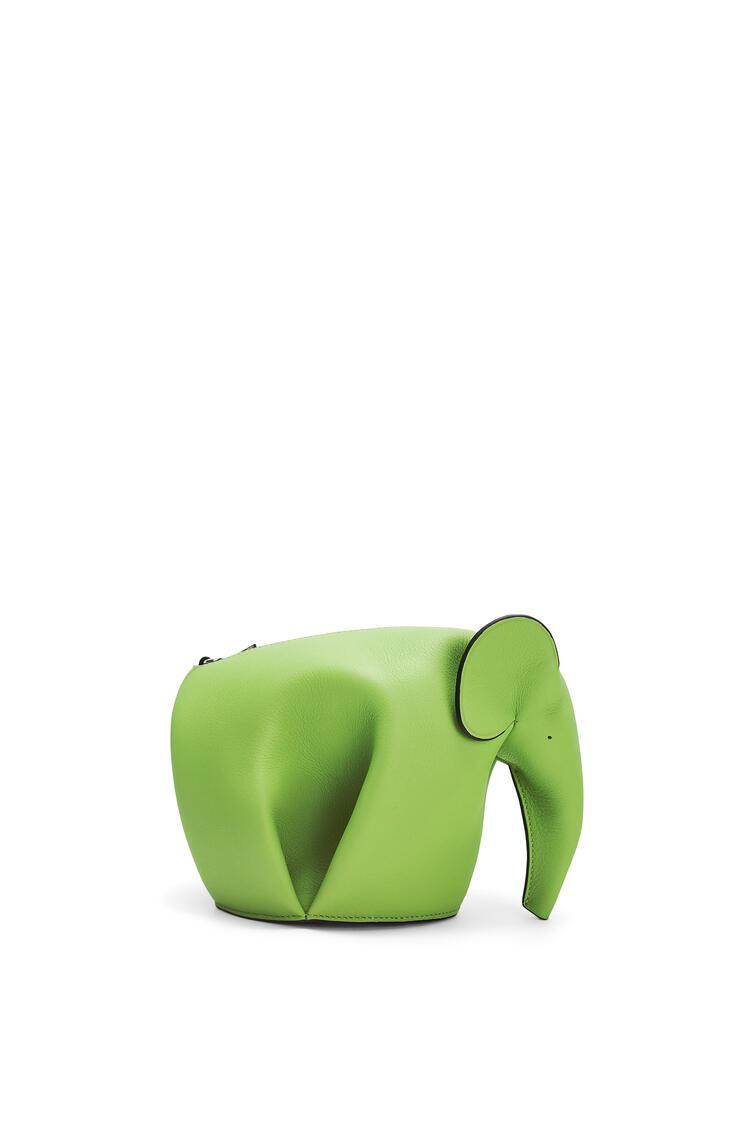 LOEWE Elephant mini bag in classic calfskin Apple Green pdp_rd