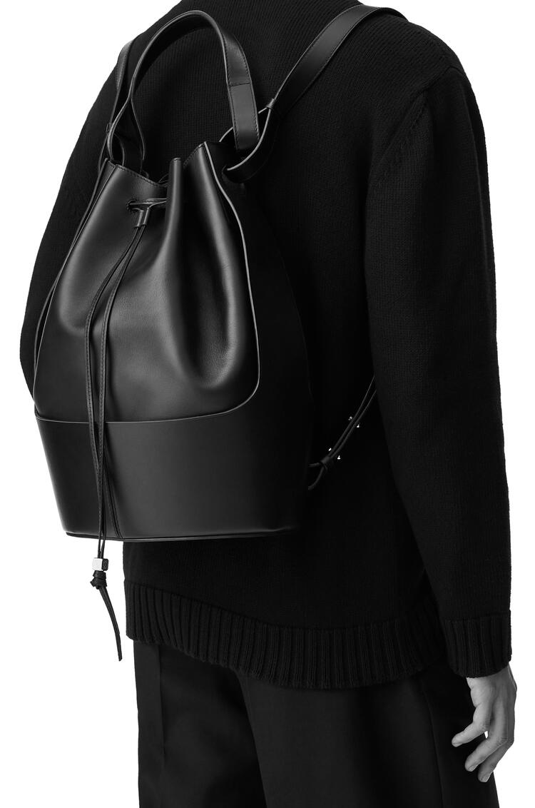 LOEWE Balloon Backpack in nappa calfskin Black pdp_rd