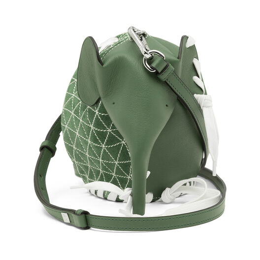 LOEWE Bolso Mini Elefante Sneakers Verde all