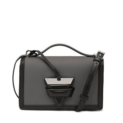 LOEWE Barcelona Bag Anthracite/Black front