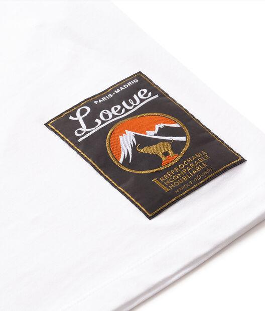 LOEWE Holidays Printed T.Shirt Blanco all