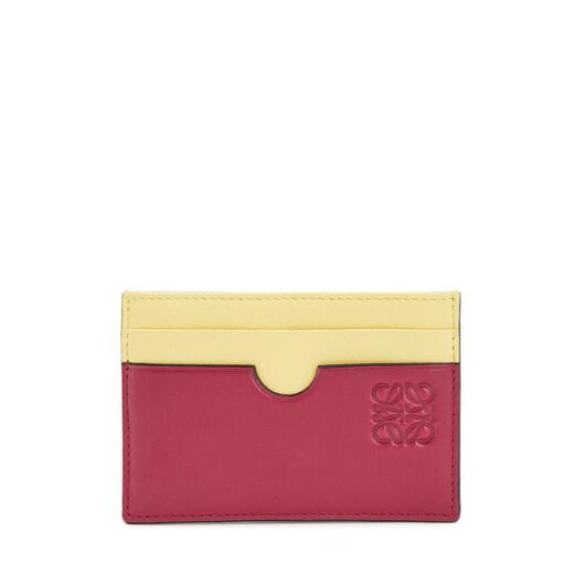 Color Block Plain Cardholder