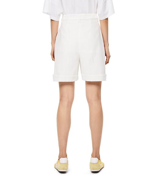 LOEWE Shorts Blanco front