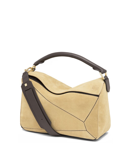 LOEWE Bolso Puzzle Oro all