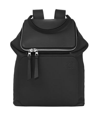 LOEWE Goya Backpack 黑色 front