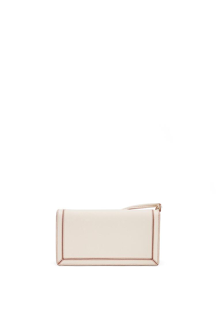 LOEWE Mini Barcelona Soft Bag In Soft Grained Calfskin Light Oat pdp_rd