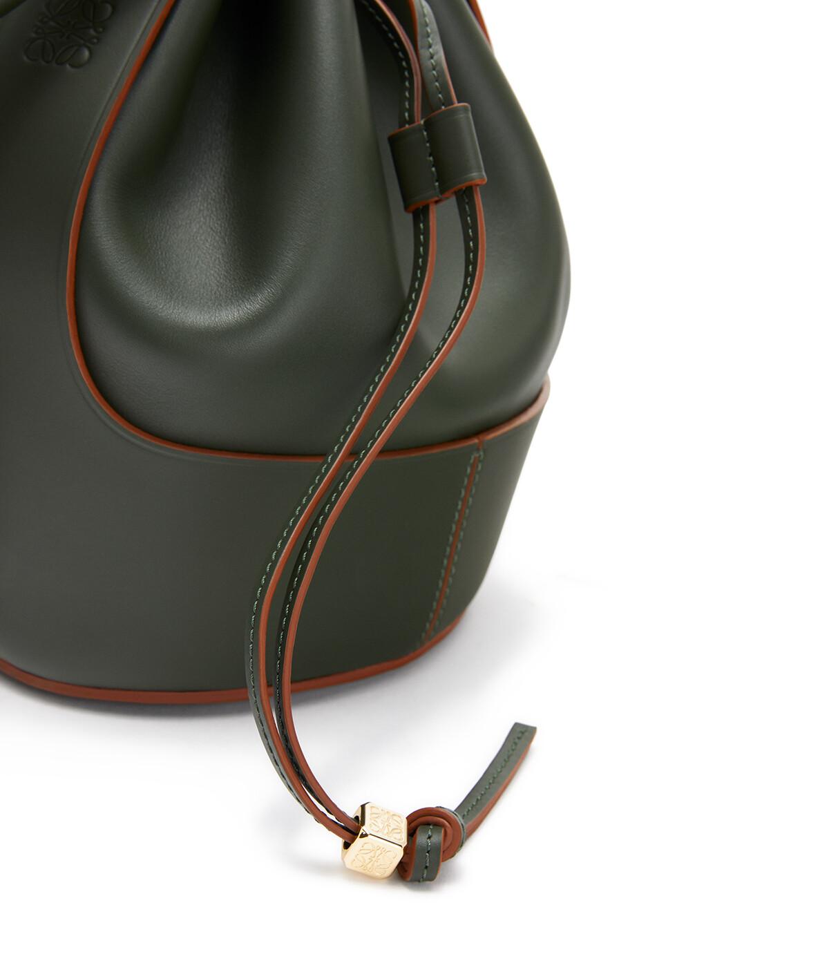 LOEWE Balloon Small Bag Vintage Khaki front