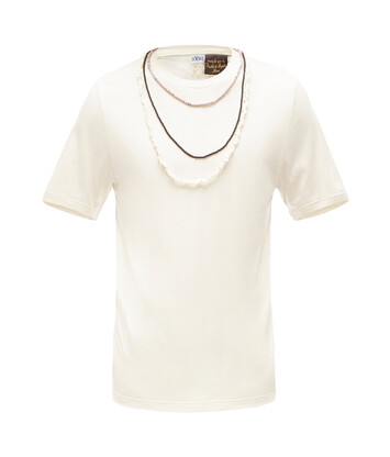 LOEWE Paula T-Shirt Necklaces 玳瑁色 front