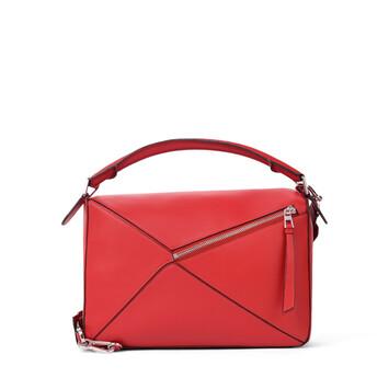 LOEWE Bolso Puzzle Rojo Escarlata front