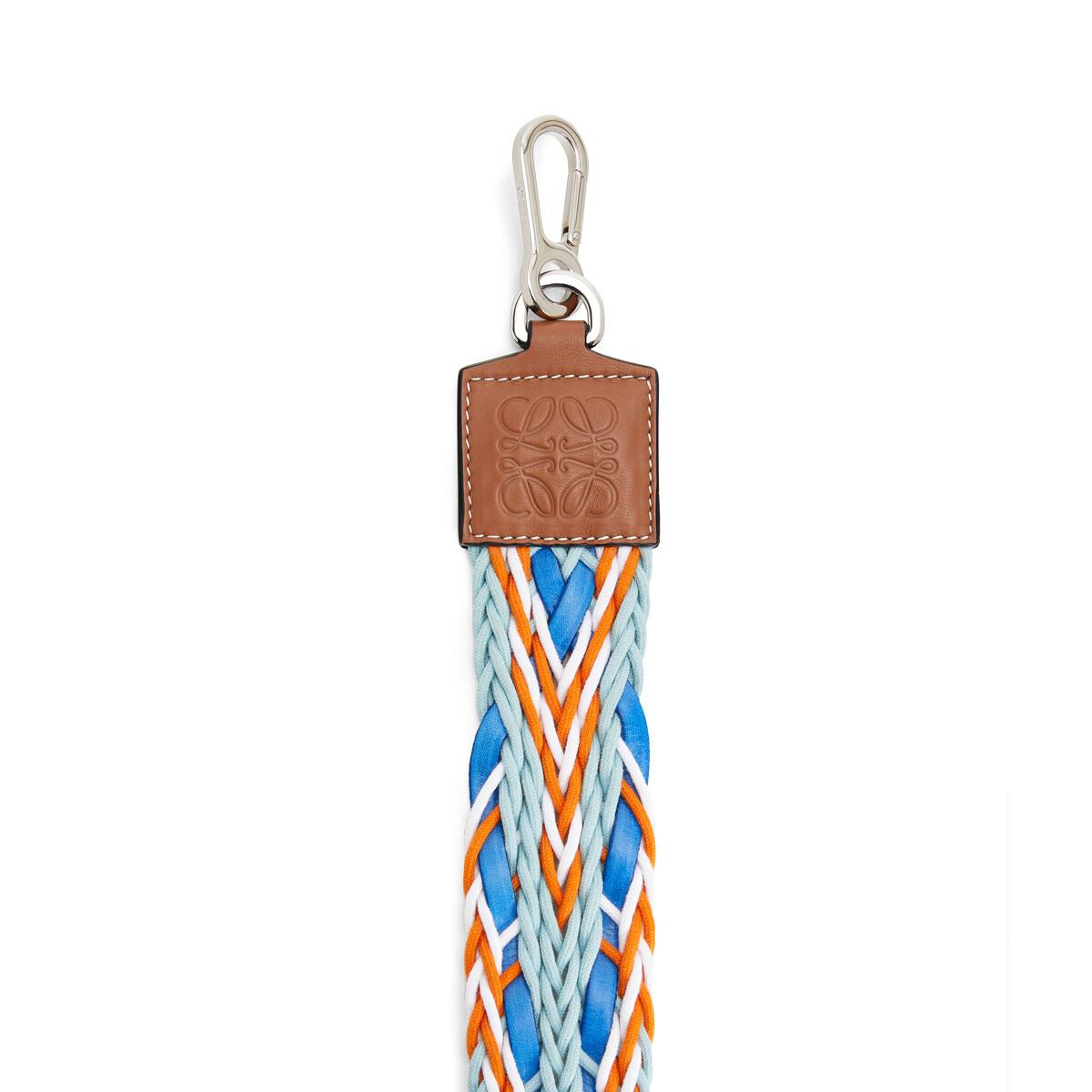 LOEWE Paula´S Elastic Woven Strap Blue/Orange front