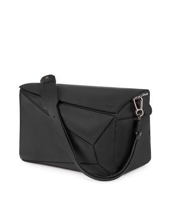 LOEWE Puzzle Xl Bag 黑色 front