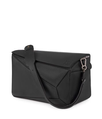 LOEWE Bolso Puzzle Xl Negro front