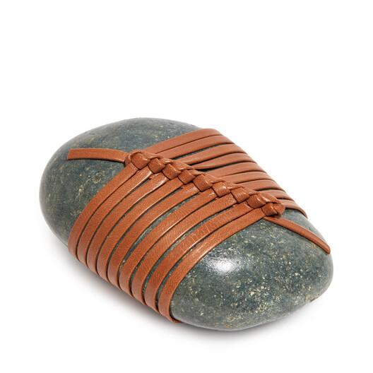 LOEWE Se Diagonal Knot Stone Tan front