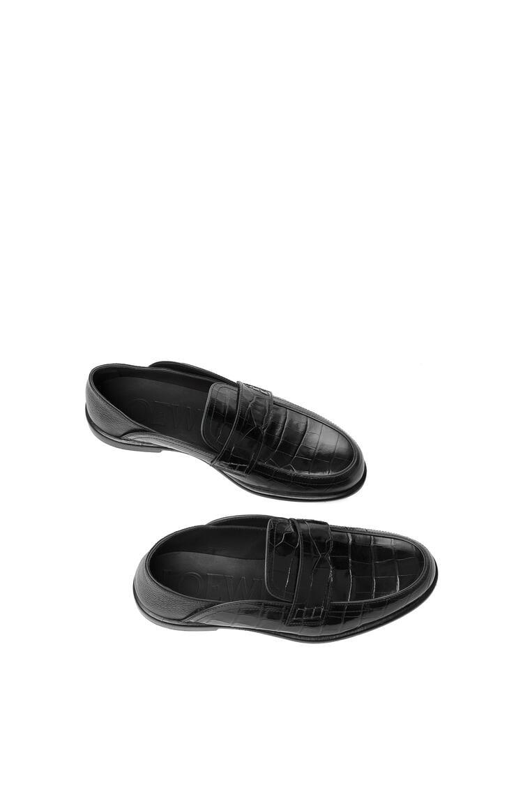 LOEWE 套穿式乐福鞋 黑色/黑色 pdp_rd