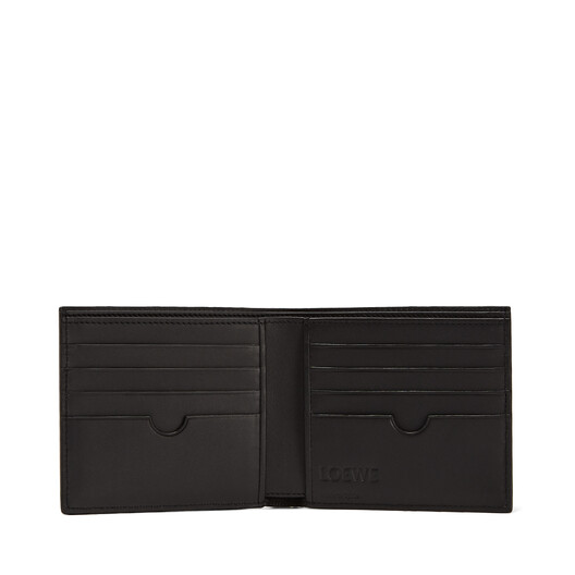 LOEWE Puzzle Bifold Wallet 靛蓝色 front