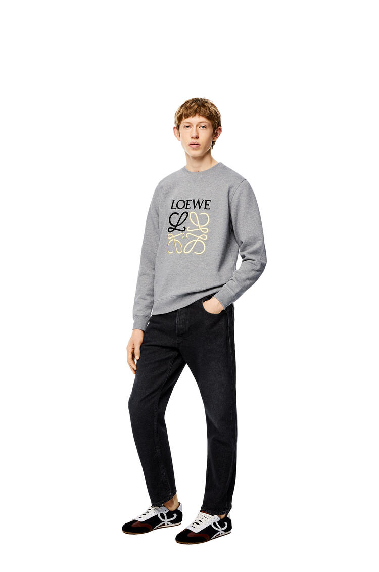 LOEWE Slim leg jeans in cotton Black pdp_rd
