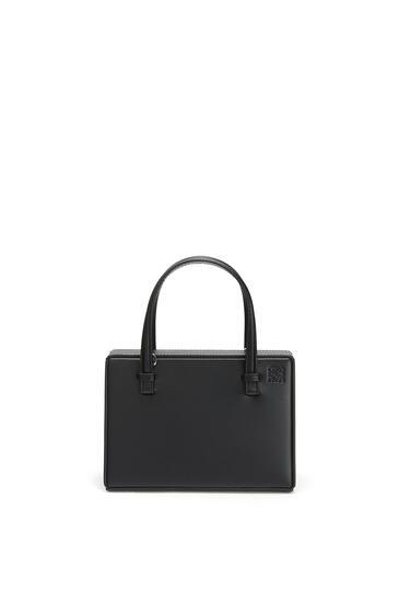 LOEWE Small Postal Bag In Natural Calfskin Black pdp_rd