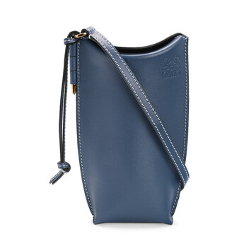 LOEWE Gate Pocket Steel Blue front