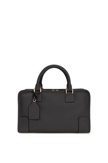 LOEWE Amazona bag in classic calfskin Black/Gold pdp_rd