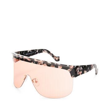 LOEWE Show Sunglasses 黑色/橘色 front