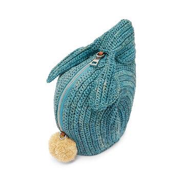 LOEWE Mini Bolso Conejo Turquesa front