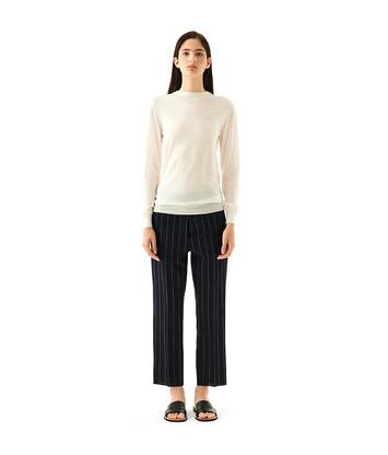 LOEWE Anagram Sweater 淡褐色 front