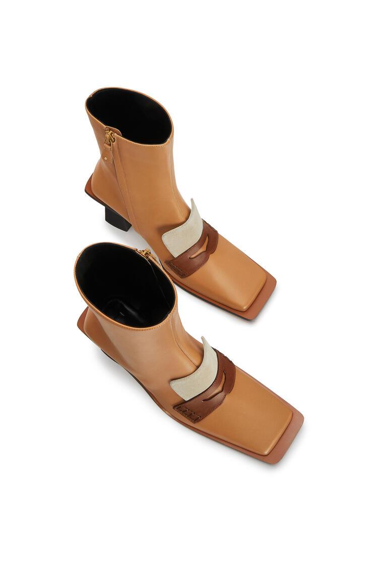 LOEWE Square boot in calfskin Desert pdp_rd