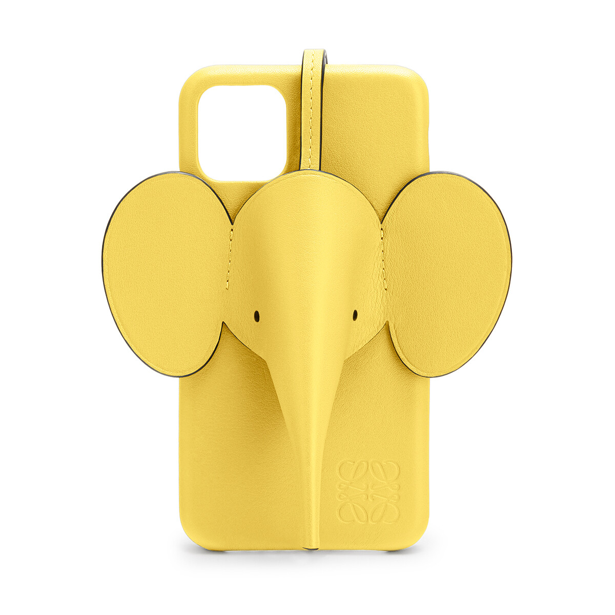 LOEWE Elephant Cover For Iphone 11 Yellow front