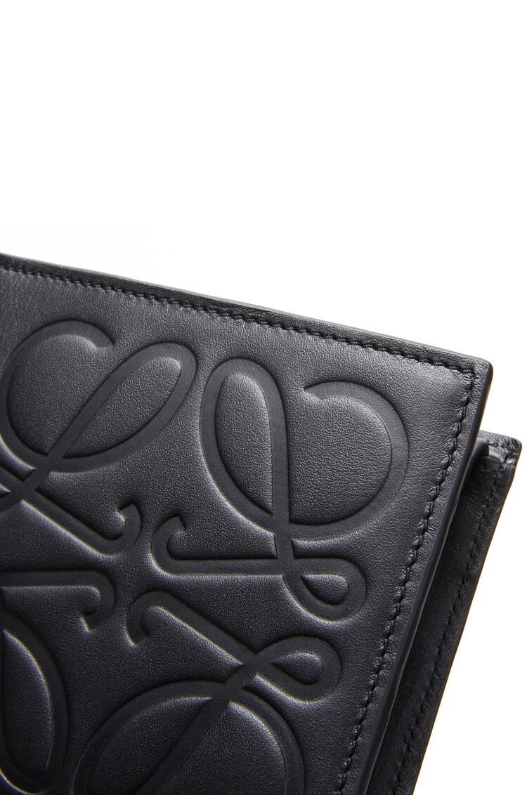 LOEWE Bifold Coin Wallet In Smooth Calfskin Black pdp_rd