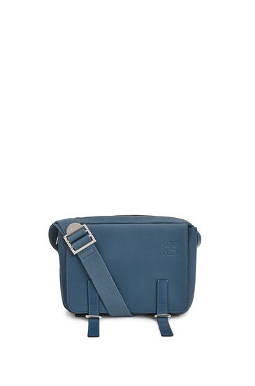 LOEWE Xs Military Messenger Bag In Calfskin 靛藍 pdp_rd